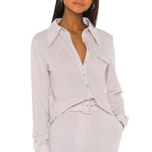 Song of Style Nori Top in Silver Lilac